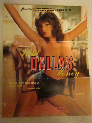 Wild Dallas Honey (1982) (Jeffrey Fairbanks, Caballero Home Video)