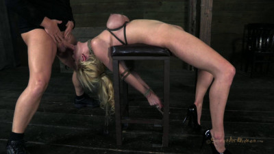 Courtney Taylor - Bound, Manhandled, Used, Fucked and deep Throated