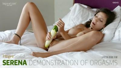Serena — Demonstration of Orgasms