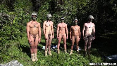 TroopCandy – Taking The Recruits On Their First Run