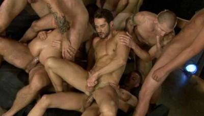 Frat Boys In Magic Orgy