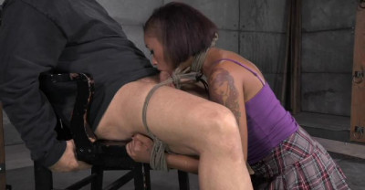 Sexy Cute Skin Diamond Gets Bound, Fucked, Stuffed Full Of Cock And Brutally Deepthroated