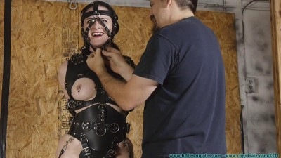 Pony Girl Try on with Caroline Pierce 3part - BDSM, Humiliation, Torture HD 720p
