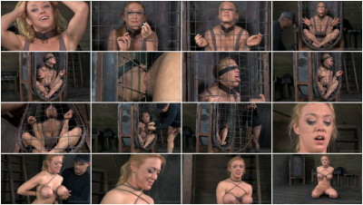 Realtimebondage – Apr 1, 2014 – Brutal Challenging Deepthroat On 10 Inch BBC – Darling