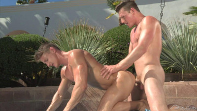 Poolside 1, Scene 01: Brent Corrigan, Darius Ferdynand