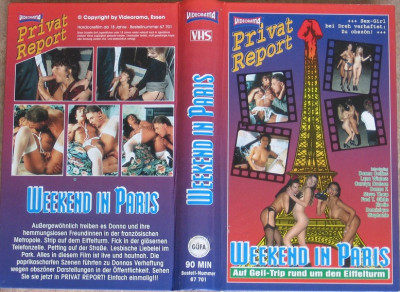 Weekend In Paris (Paris Tapes Volume 1)