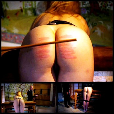 Ariel's Judicial Caning (Ariel Anderssen) DreamsOfSpanking