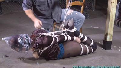 Riley Is Captured, Belt Whipped, And Hogtied – Part 3