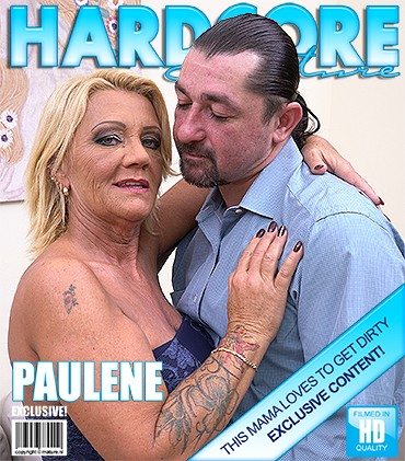 Paulene — Hairy housewife fucking and sucking HD 720p