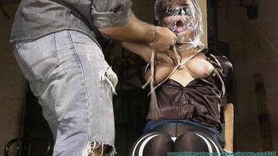 Riley is Captured Belt Whipped and Hogtied 2part - BDSM, Humiliation, Torture HD 720p