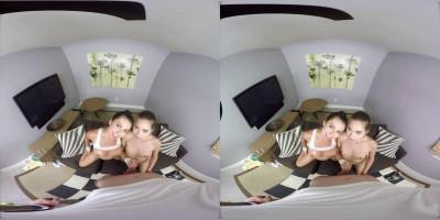 Melissa Moore & Riley Reid 3D VR Porn