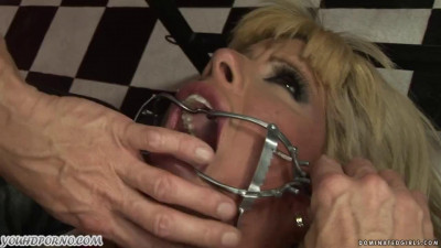 Anally dominates her slave
