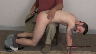 ReluctantYoungMen Straight Submissive's First Spanking from a Man