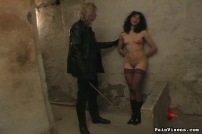 Painvixens – Oct 31, 2008 – Brunette Captive Torment