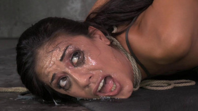 Lyla Storm brutally bound in strict strappado