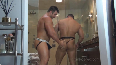 Dual Muscle Shower — Frank Defeo and Mike Buffalari