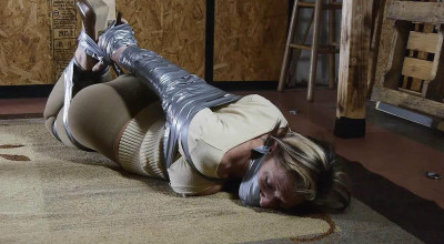 Courtney Mummified Gag Doll - Part 1