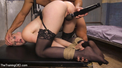 Slave Training Gorgeous Newbie – Riley Nixon