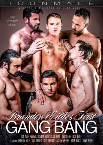 IconMale - Brandon Wilde's First Gangbang