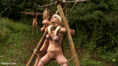 """The Dig"" – The Conclusion. A BDSM Abduction Horror Feature Film – Out Door Bondage At Its Best"