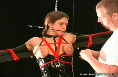 Breast Torture - Sunction Cupped Slave