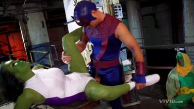 Chyna Is She-Hulk XXX Parody