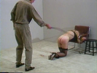 Julia's First Whipping Session
