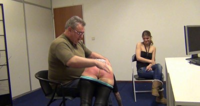 Angelique Sidney Soundly Spanked Part 1