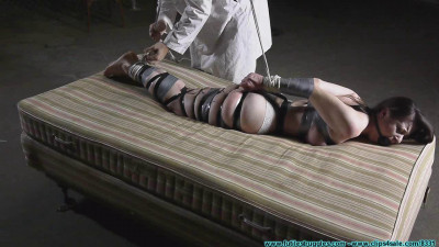 Serenes Bondage. Dream Hogtaped