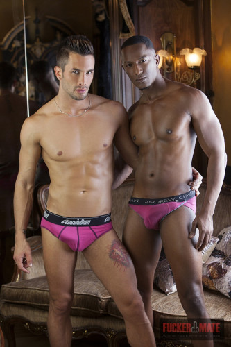 Hector Agusti and Andrea Suarez Inter-racial-double-cum (2014)