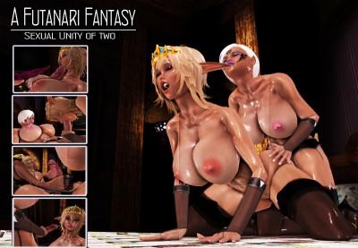 A Futanari Fantasy Sexual Unity of Two 3D Full HD