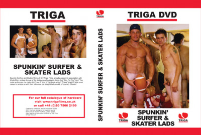 Triga Films Spunkin' Surfer and Skater Lads