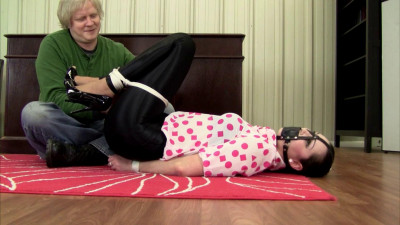 Frogtie And Ballgagged
