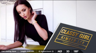 Virtual Real Trans — Classy Girl — Kimber Lee (Android/iPhone)