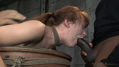 Redheaded Sweetheart Claire Robbins Bend Over A Barrel