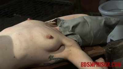 BDSMPrison – Nadja's BDSM Interrogation Involves A Rusty Hook & Her Pussy
