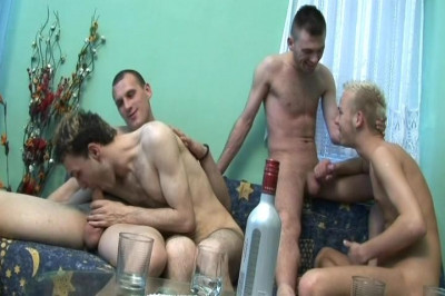 [Alfa Red] Drunk Dudes Scene #3
