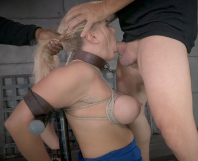 RTB — Angel orgasmblasted on sybian and does inverted deepthroat! — Oct 14, 2014