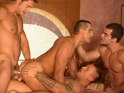 City of Gangbang With Brutal Men