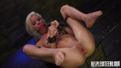 Halle Von Must Endure Domination, Outdoor Rough Sex Bondage for a Ride (2014)