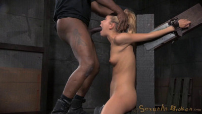 Little Girl Bound In A Box And Fucked Hard From Both Ends