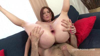 Redhead slut Katie Gold assfucked And creampied (2016)