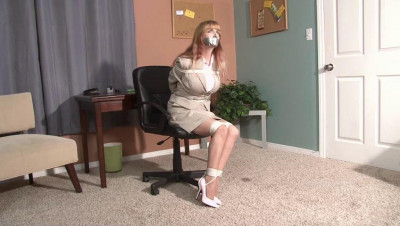 Bound and Gagged – LadyBoss Lorelei – Part 1