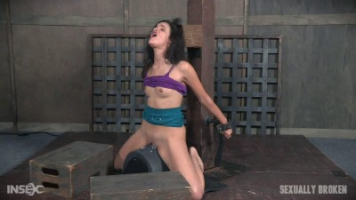 The Amazing Eden Sin Bound on a Sybian, Deepthroated Throat Boarded! Amazing Skills! (2017)