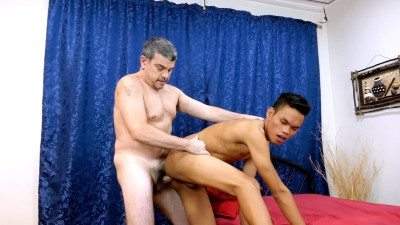 Daddy's Asians - Daddy And The Cock Rider
