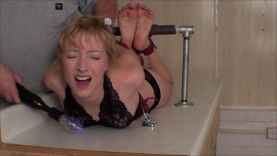 Little Blond Hogtie Orias