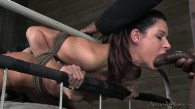 AVN winning MILF India Summer tag teamed, Brutal deepthroat on BBC