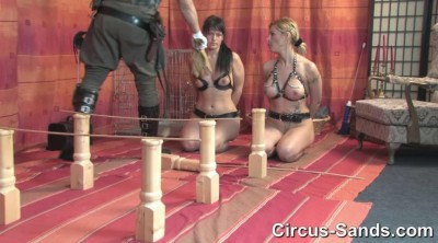 Ponygirls Jenna Jane and Yvette Costeau