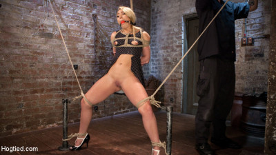 AJ Applegate Submits To Grueling Bondage And Torment