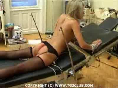 Blonde Bloody Stuff And Electro Torture – Part 2 TG2Club